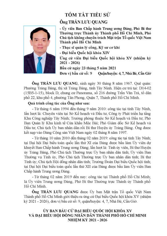 Danh sách 50 ứng cử viên ĐBQH khóa XV tại TP.HCM - Ảnh 83.