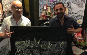 Sài Gòn trong tranh ký họa