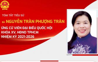 [Infographic] Tiểu sử và chương trình hành động của bà Nguyễn Trần Phượng Trân