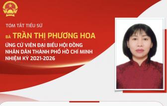 [Infographic] Tiểu sử và chương trình hành động của bà Trần Thị Phương Hoa