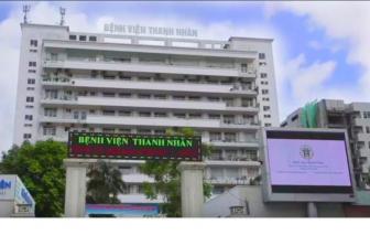 Nhân viên vệ sinh của Bệnh viện Thanh Nhàn dương tính với virus SARS-CoV-2