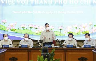 Thủ tướng Phạm Minh Chính hy vọng TPHCM sớm có những đột phá
