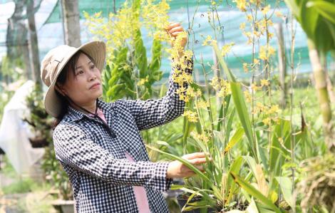 Những nữ nông dân thời công nghệ cao
