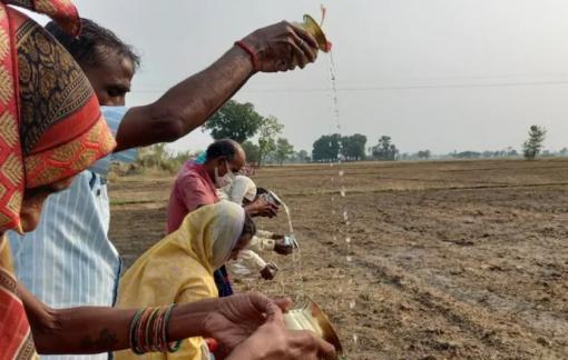 Người dân Ấn Độ cầu cứu thần linh khi không thể tìm thấy bác sĩ