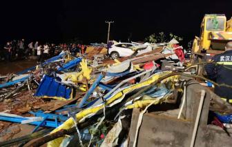 7 người tử vong, hàng trăm người bị thương do lốc xoáy ở Trung Quốc