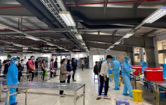 Bắc Giang: Chi phí xét nghiệm COVID-19 tại KCN Vân Trung do doanh nghiệp trả
