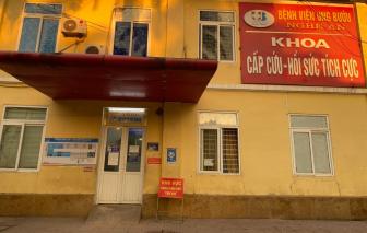 Phong tỏa một khoa ở Bệnh viện Ung Bướu Nghệ An vì có ca F1 tử vong
