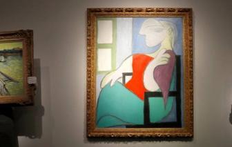 Bức tranh sơn dầu của Picasso được bán với giá khủng hơn 103 triệu USD