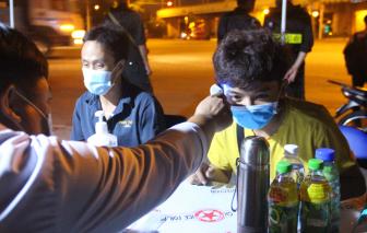 Gần 10.000 người được kiểm tra tại các chốt, trạm phòng chống dịch COVID-19