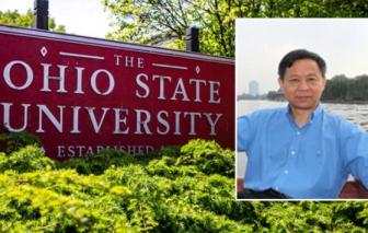 """Giáo sư người Mỹ gốc Trung Quốc bị tù vì tội """"hai mang"""" trong nghiên cứu khoa học"""