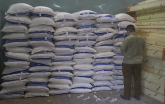 TPHCM: Phát hiện gần 150 tấn đường không rõ nguồn gốc