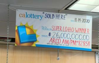 Vé số trúng thưởng độc đắc trị giá 26 triệu USD có thể đã bị cho vào máy giặt