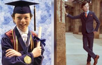 Cậu bé 12 tuổi tốt nghiệp cao đẳng chỉ trong một năm và làm chủ 2 công ty khởi nghiệp