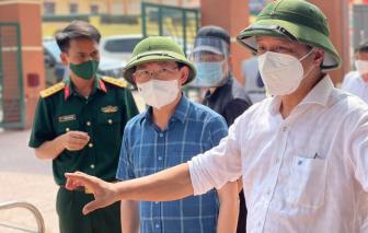 """Thứ trưởng Nguyễn Trường Sơn: Lọt một ca COVID-19 cũng có thể thành """"bom nổ chậm"""""""