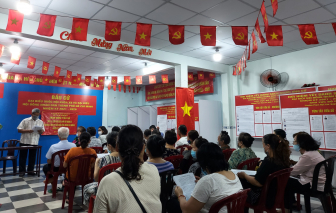 TPHCM tổ chức mạn đàm tiểu sử ứng cử viên đại biểu nhân dân