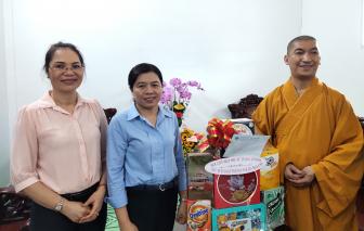 Lễ Phật đản, Hội LHPN TPHCM thăm các cơ sở Phật giáo