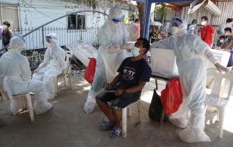 Thái Lan có số ca nhiễm COVID-19 tăng kỷ lục với hơn 9.600 ca mắc mới