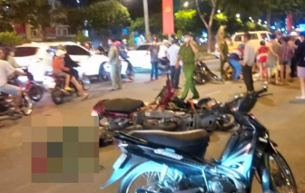 TPHCM: Thanh niên nghi cướp giật chạy ngược chiều gây tai nạn, 4 người thương vong