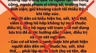 Phó chủ tịch UBND TPHCM Dương Anh Đức: Thông tin Thành phố giới nghiêm sau 22g là giả
