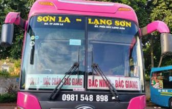 Sơn La tìm người đi xe khách tuyến Lạng Sơn - Sơn La có ca mắc COVID-19