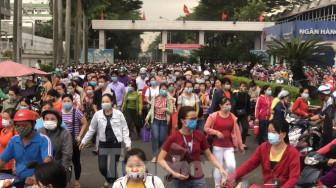 TPHCM: Không khai báo y tế sẽ không cho vào khu công nghiệp làm việc