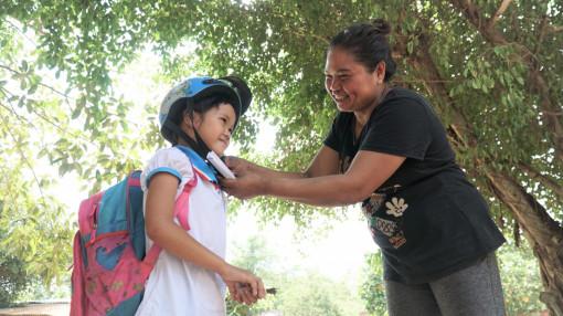 Già làng Keo Onl - bà tiên nhỏ ở ấp Bố Lớn
