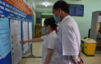 Dừng bỏ phiếu khi phát hiện ca nhiễm hoặc nghi nhiễm COVID-19 tại điểm bầu cử