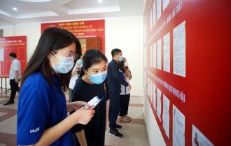 Hà Nội: Nhiều người bỏ phiếu ở nơi tạm trú