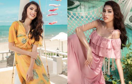 Á hậu Ngọc Thảo gợi ý phối đồ đi biển mùa hè điệu đà cho phái đẹp