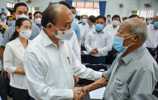 Chủ tịch nước Nguyễn Xuân Phúc: Huyện Củ Chi, Hóc Môn cần quản lý đô thị chặt chẽ