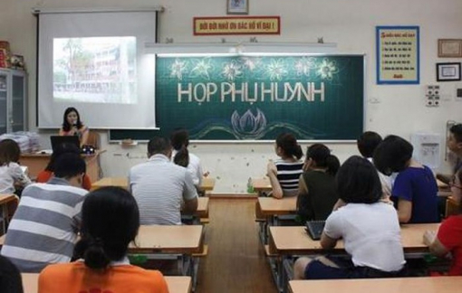 TPHCM: Trường học không tổ chức họp phụ huynh trực tiếp cuối năm