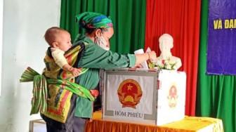 Nghệ An: Gần 43.000 cử tri các dân tộc Thái, Mông, Khơ Mú, Đan Lai bầu cử sớm