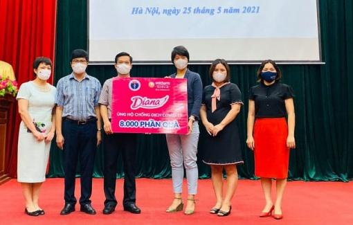 Diana Unicharm đồng hành cùng Bộ Y tế hỗ trợ Bắc Giang phòng, chống COVID-19