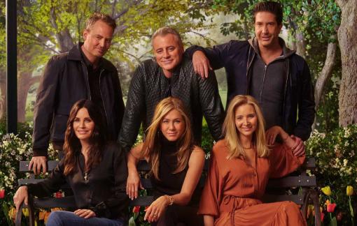 """""""Friends"""" trở lại trong sự cuồng nhiệt"""