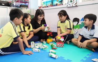"""Bốn năm Sữa học đường đồng hành với học sinh Bến Tre nay đã thu """"trái ngọt"""""""