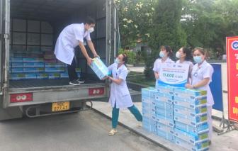 Cô Gái Hà Lan tiếp tục mang 450.000 ly sữa yêu thương, tiếp sức cho tâm dịch vững vàng