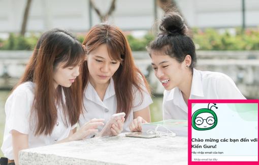 Kiến Guru tặng 2 triệu khóa luyện thi cho học sinh lớp 9 và 12