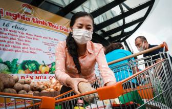TP. Thủ Đức tổ chức đi chợ giúp dân mùa COVID-19