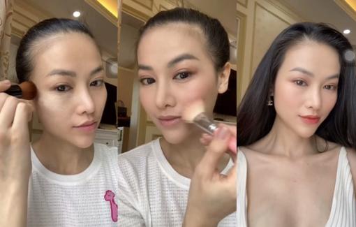 Hoa hậu Phương Khánh hướng dẫn cách make up da dầu vào mùa hè