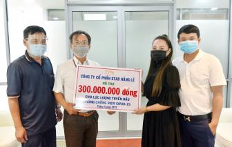 Công ty Star Hằng Lê ủng hộ 300 triệu đồng cho tuyến đầu chống dịch