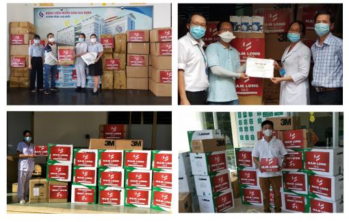 Tập đoàn Nam Long ủng hộ 12 tỷ đồng hỗ trợ phòng chống, kiểm soát dịch COVID-19
