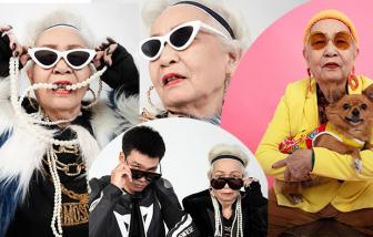 """Thời trang """"siêu ngầu"""" ở tuổi 80 của bà ngoại rapper Wowy"""