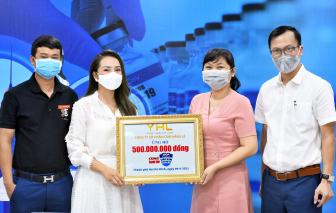 Công ty Star Hằng Lê ủng hộ 500 triệu đồng cho Quỹ vắc-xin phòng, chống - COVID-19
