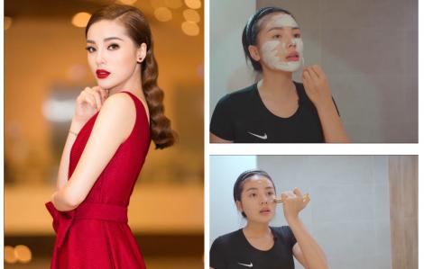 Hoa hậu Kỳ Duyên hướng dẫn 6 bước chăm sóc để có làn da sáng, khỏe