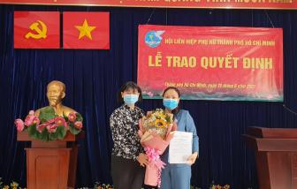 Bà Vũ Yến Oanh trở thành Chủ tịch Hội LHPN Q.8