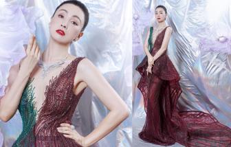 Diễn viên Trung Quốc diện đầm của NTK Hoàng Hải, truyền thông đại lục hết lời ngợi ca