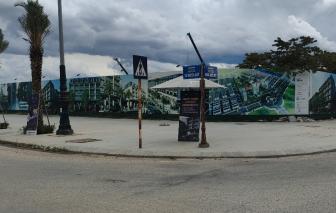 Dự án Khu nhà phố thương mại An Cựu phê duyệt bán nhà, thực tế bán đất?