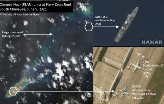 Trung Quốc đưa tàu giám sát quân sự và máy bay đến Biển Đông