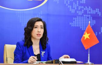Yêu cầu Đài Loan hủy bỏ hoạt động diễn tập trái phép trên đảo Ba Bình của Việt Nam