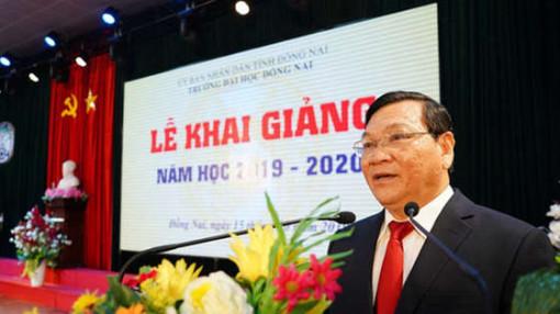 Cách chức Hiệu trưởng Trường Đại học Đồng Nai đối với ông Trần Minh Hùng
